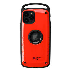 [iPhone 11 Pro専用]ROOT CO. Gravity Shock Resist Case Pro. (レッド/グロス)