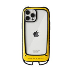 [iPhone 12 Pro Max専用]ROOT CO. GRAVITY Shock Resist Case +Hold.(イエロー)