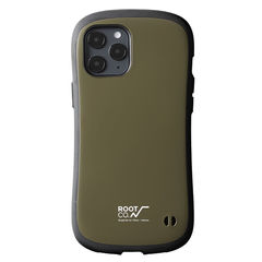 [iPhone 12/12 Pro専用]ROOT CO. GRAVITY Shock Resist Case. /ROOT CO.×iFace Model(カーキ)