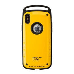 [iPhone XS Max専用]ROOT CO. Gravity Shock Resist Case Pro. (イエロー/グロス)