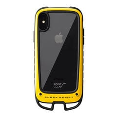[iPhone XS/X専用]ROOT CO. Gravity Shock Resist Case +Hold. (イエロー)