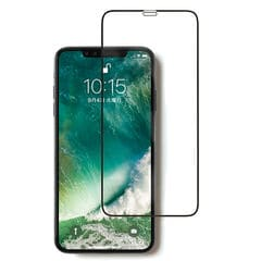 [iPhone XS Max専用]ROOT CO. GRAVITY Tempered Glass Film (ブラック)