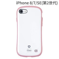 [iPhone 8/7専用]iFace First Class Pastelケース(ホワイト/ピンク)
