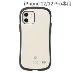 [iPhone 12/12 Pro専用]iFace First Class KUSUMIケース(くすみホワイト)
