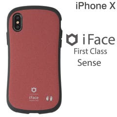 [iPhone XS/X専用]iFace First Class Senseケース(レッド)