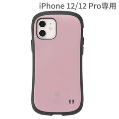 [iPhone 12/12 Pro専用]iFace First Class KUSUMIケース(くすみピンク)