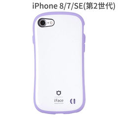 [iPhone 8/7専用]iFace First Class Pastelケース(ホワイト/パープル)