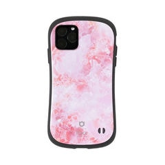 [iPhone 11 Pro専用]iFace First Class Marbleケース(ピンク)