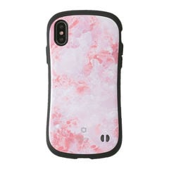 [iPhone XS Max専用]iFace First Class Marbleケース(ピンク)