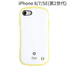 [iPhone 8/7専用]iFace First Class Pastelケース(ホワイト/イエロー)
