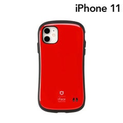 [iPhone 11専用]iFace First Class ケース(ピュアレッド)