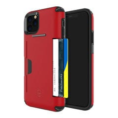 [iPhone 11 Pro Max専用]PATCHWORKS LEVEL WALLET ケース(レッド)