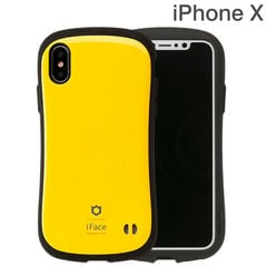 [iPhone XS/X専用]iFace First Class Standardケース(イエロー)