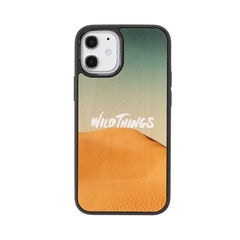 [iPhone 12 mini専用]WILD THINGS(ワイルドシングス) × kibaco Wood Case (DESERT)
