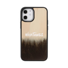 [iPhone 12 mini専用]WILD THINGS(ワイルドシングス) × kibaco Wood Case (HAZE)