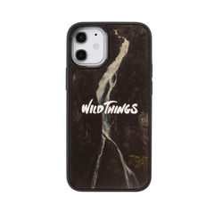 [iPhone 12 mini専用]WILD THINGS(ワイルドシングス) × kibaco Wood Case (WATERFALL)