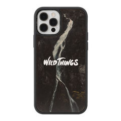 [iPhone 12/12 Pro専用]WILD THINGS(ワイルドシングス) × kibaco Wood Case (WATERFALL)