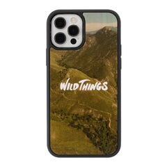 [iPhone 12/12 Pro専用]WILD THINGS(ワイルドシングス) × kibaco Wood Case (TRAIL)