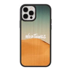 [iPhone 12/12 Pro専用]WILD THINGS(ワイルドシングス) × kibaco Wood Case (DESERT)