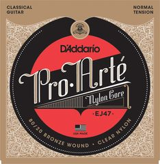 D'Addario EJ47 80/20 Clear/Normal クラシック弦