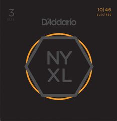 D'Addario NYXL1046-3P Nickel Wound Regular Light エレキギター弦 3セットパック