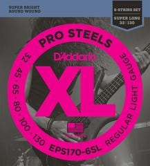 D'Addario EPS170-6SL 6-String Super Long 032-130 6弦ベース用 ベース弦