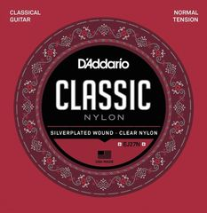 D'Addario EJ27N SV/Clear/Student/Normal クラシックギター弦