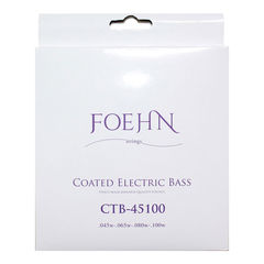 FOEHN CTB-45100 Coated Electric Bass Strings Regular Light コーティングエレキベース弦 45-100