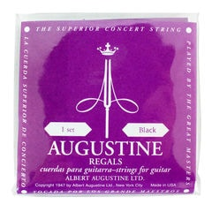 AUGUSTINE REGAL BLACK SET クラシックギター弦