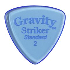 GRAVITY GUITAR PICKS Striker -Standard- GSRS2P 2.0mm Blue ギターピック