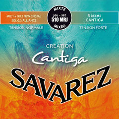SAVAREZ 510MRJ CREATION Cantiga Mixd tension SET クラシックギター弦