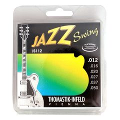 Thomastik-Infeld JS112 JAZZ SWING Flat Wound フラットワウンドギター弦
