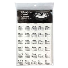 ORCAS CLOTH-OUC UKULELE CORD CLOTH WHT ウクレレコードクロス