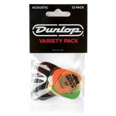 JIM DUNLOP PVP112 VARIETY ACOUSTIC VARIETY PACK ピック 12枚入り