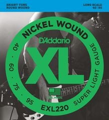 D'Addario EXL220 Super Light ベース弦