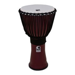 "TOCA TF2DJ-12R Freestyle II Djembe 12"" Red Synthetic Head ジャンベ"