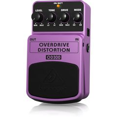 BEHRINGER OD300 OVERDRIVE DISTORTION ギターエフェクター
