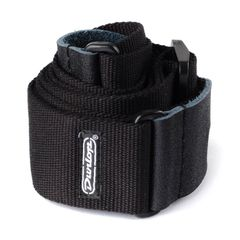 JIM DUNLOP D2101BK Cotton Straps Black ギターストラップ