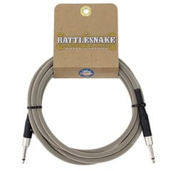 Rattlesnake Cable Standard Dirty Tweed 3m SS ギターケーブル