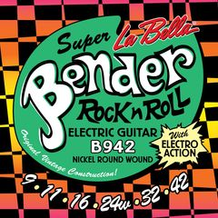 La Bella The Bender B942 SUPER LIGHT 09-42 エレキギター弦