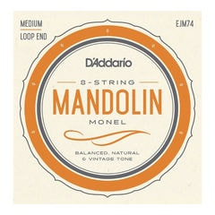 D'Addario EJM74 Mandolin strings Medium マンドリン弦