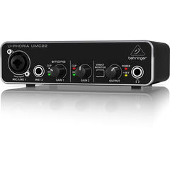 BEHRINGER UMC22 U-PHORIA オーディオインターフェース