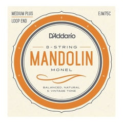 D'Addario EJM75C Mandolin strings Medium Plus マンドリン弦