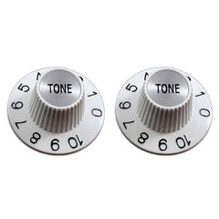 ALLPARTS Knobs&Tips 5104 PK-3242-025 Witch Hat Tone Knobs コントロールノブ