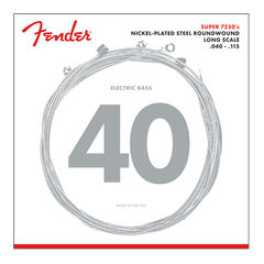 Fender 7250 Bass Strings Nickel Plated Steel Long Scale 7250-5L 040-115 5弦エレキベース弦