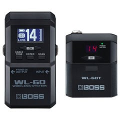 BOSS WL-60 Wireless System ギターワイヤレスシステム