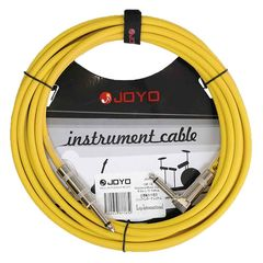 JOYO CM-12 Shielded Mono Cable 4.5m L/S Yellow ギターケーブル