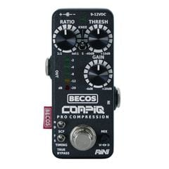 BECOS CompIQ MINI Pro Compressor ギターエフェクター