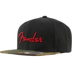 FENDER Camo Flatbill Hat Camo One Size Fits Most キャップ