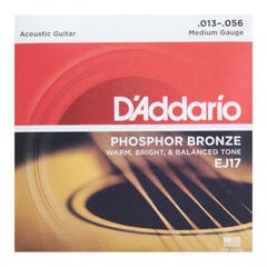 D'Addario EJ17/Phosphor Bronze/Medium アコースティックギター弦